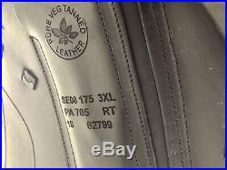 2018 CWD Dressage Buffalo Saddle 17.5 Excellent Condition