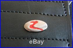 22 Horze Smooth Soft Leather Elastic Both End Dressage Horse Cinch Girth Black