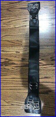32 Cliff Barnsby Dressage Girth Lightly USED Leather Dressage Girth
