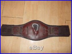 50cm childeric leather dressage girth