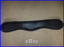 Albion Humane Short Dressage Girth black size 22 55cm anatomical padded