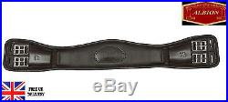 Albion Legend Dressage Girth Comfort Leather Girth Black Or Brown All Sizes
