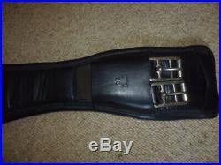 Albion Legend Short Dressage Girth brown size 26 65cm anatomical