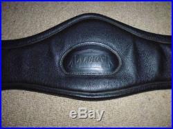 Albion Revelation Short Dressage girth black/red size 28 70cm padded ergonomic