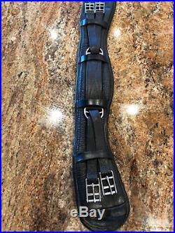 Albion Ultima Humane Short Dressage girth black size 26 padded anatomical