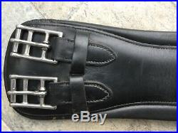 Amerigo Vega Padded Black Short Dressage Mono Jump Girth Non Elastic Good Width