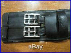 Beautiful Black Leather County Brand Dressage Girth 30 Great Condition
