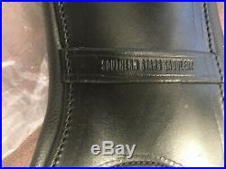 Brand New 45cm Leather Pony Dressage Girth by Southern Stars Saddlery