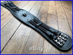 Brown/Black Quality Leather Dressage Girth Treeless saddle girth Easytrek