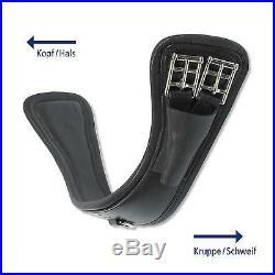 Busse Surcingle Curved Dr Short Belt Best Leather Dressage Waist Belt Buckle