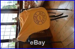 Butet Dressage Saddle 3 D 17.5 (Deep Seat) SFD 773 10 Black Close Contact