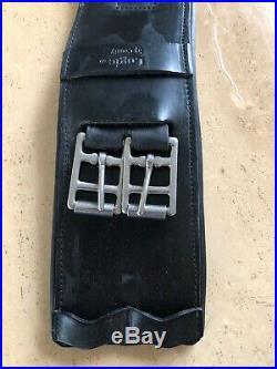County Saddlery Logic Dressage Girth, 32 inch, Black