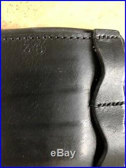County Saddlery Logic Dressage Girth, 38 inch, Black