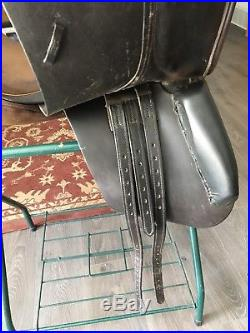 Crosby Prix Des Nations Dressage 17.5, includes leathers and girth