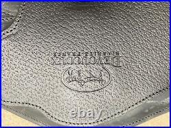 Devoucoux dressage girth w breastplate hook, size 20, black, brand new