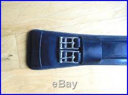 EUC 80cm (31.5) ThinLine Contour Comfort Leather Dressage Girth (EG154)