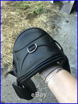 Eponia Black Leather Girth 26