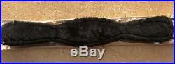Equipe Black Dressage Girth With Sheepskin 70 cm (27.5)