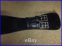 Equipe GH19 Rose Leather Dressage Girth black size 80cm 32