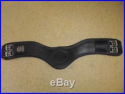 Fairfax Leather Dressage Girth black size 30cm narrow gauge