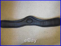 Fairfax Leather Performance Dressage Girth black size 32 standard gauge 80cm