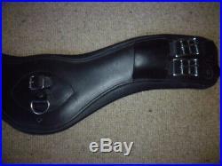 Fairfax Leather Short Event Girth brown size 24 standard gauge 60cm dressage