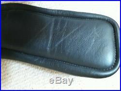 Fairfax black leather short dressage Performance Girth narrow gauge 24/62cm