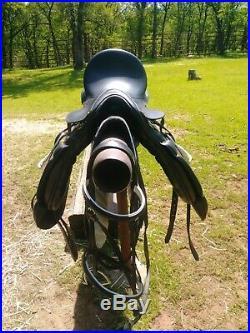 HDR Henri Dr Rival Dressage Saddle Set
