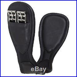 Harry Dabbs Platinum/Jaguar Equestrian Leather Dressage Girth