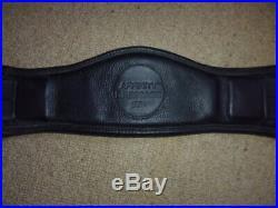 Ideal Affinity Standard Dressage Girth black size 24 60cm short anatomical