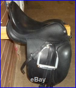 Juno 18m Patrick Custom Dressage Saddle-stirrups-stirrup Leathers And Girth Wow