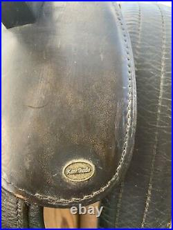 Kavalkade leather equine fore girth