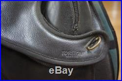 Leather TORSION treeless SADDLE & GIRTH 16 inches dressage