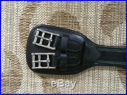 NEW Amerigo Special Dressage Girth with Elastic Insets 70cm / 27.5 BLACK