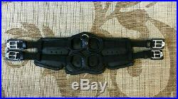 NEW Stubben Horse Equi-Soft Leather Dressage Girth 26 BLACK