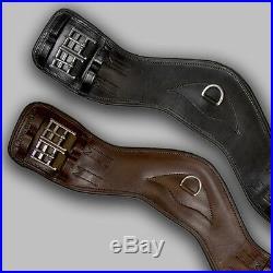 NEW Total Saddle Fit Shoulder Relief Dressage Girth Black 24