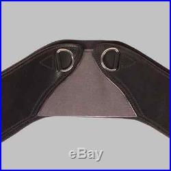NEW Total Saddle Fit StretchTec Shoulder Relief Dressage Girth Black 20