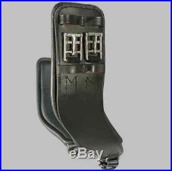 NEW Total Saddle Fit StretchTec Shoulder Relief Dressage Girth Black 24