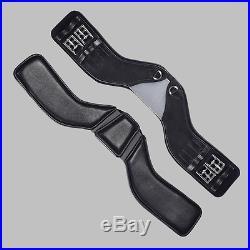 NEW Total Saddle Fit StretchTec Shoulder Relief Dressage Girth Black 32