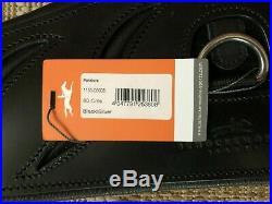 NWT Schockemoehle Pandora Dressage Girth 80cm / 31.5 BLACK Horse Short Girth