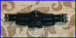 NWT Stubben Horse Equi-Soft Leather Dressage Girth 70cm / 27.5 BLACK