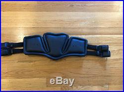 New Stubben Horse Equi-Soft Leather Dressage Girth 28 70 cm Black