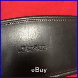 Nunn Finer Black Leather Dressage Girth-28