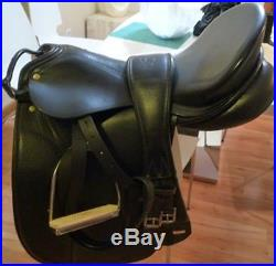 OTTO SCHUMACHER Profi 18 Saddle, Girth, Leathers, Stirrups, Cover & Bridle