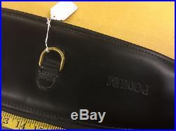 Podium Girth Leather Black 75cm (30) Brass Buckles Endurance Saddle or Dressage