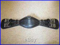 Prestige Elasticated Short Dressage Girth black size 50cm or 20 anatomical