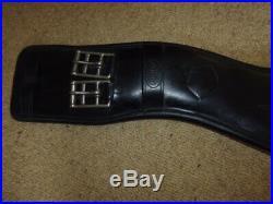 Prestige Elasticated Short Dressage Girth black size 70cm or 28 anatomical