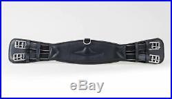 Rhinegold Softee Comfort Leather Dressage Girth Black