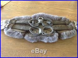 STUBBEN EQUI-SOFT Ergonomic Elastic Flexible COMFORT Shaped Girth Sheepskin 65cm