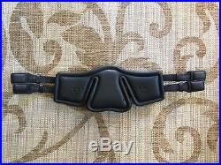 Stubben Equi-Soft Flexible Leather Dressage Girth 28 / 70cm BLACK